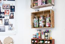 Craft Space / Supplies and inspiration for my dream creating space