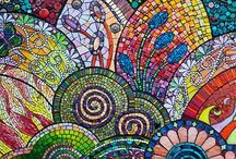 Mosaic / Art, Glass / by Pamela Goode
