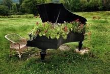 Unique Garden Ideas / Unique garden ideas: containers, gardens, plants, art, etc. / by Rebecca Nickols