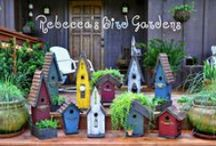 Bird Gardens ❤ / Birdhouses, Feeders, DIY Projects, Bird-Loving Plants rebeccasbirdgardens.com / by Rebecca's Bird Gardens