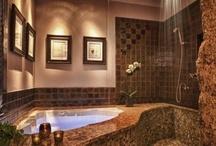 Beautiful and Bold Baths! /  great bathroom ideas