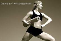 Get Fit / Cat Viger modeling fitness apparel and gear. / by Cat Viger