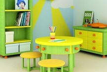 Organising Kid's Spaces / Ideas on how to organise play/learning areas for kids. / by Debs - Learn with Play at Home