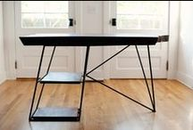 Desk / Surfaces, usually wooden to put your computer on. Work spaces and accessories also featured. / by Mark Likosky