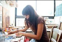 Art: Tricks, Interviews, & Business Tips / by Taryn Garrett