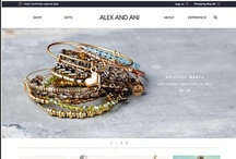 Alex and Ani / Alex & Ani wanted a site that reflected their super popular brand but also gave their fans an optimized shopping experience.  The end result is a beautiful site that is a breeze to use and is built with global expansion in mind.