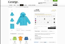 George. at Asada / UK retail giant Asda tasked Pod1 with overhauling the e-commerce user interface of its popular fashion brand George.  Our clean approach simplified the customer experience through seamless navigation and custom pages, incorporating style tips and bespoke content.