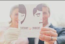 Mariage de copine / Mariage, robe, invitation, décoration  Wedding, dress, wedding deco, card, table