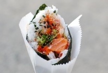 let me see that sushi roll / collecting ideas for studio night!