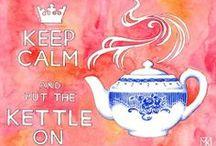 Keep Calm and Drink Tea / by Sara Panjehpour