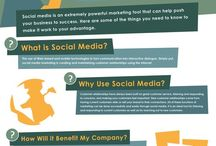 Social Media Top Tips / Relevant and top social media tips/pins around the internet.