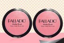 MAQUILLAJE PALLADIO / Creada hace más de 25 años, Palladio es conocida por su línea de cosméticos enriquecidos con hierbas y vitaminas. http://bit.ly/FedcoPalladio