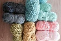Laine, tricot et tricotin / Laine, wool anything made with yarn