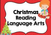 * Christmas and December Reading Language Arts Ideas / This board is dedicated for December, Christmas, Holiday Reading Language Arts ideas and activities. You are welcome to pin any of your wonderful products that have to do with this board's theme or topic. Please pin at a 1:1 ratio. 1 paid product to 1 free idea on board topic. Please keep this board looking attractive. You are welcome to invite collaborators just ask them to read these notes so we can really make this a great board for all those awesome teachers out there!!!