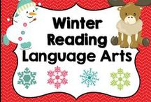 * Winter Reading Language Arts Ideas / This board is dedicated to January, Winter Reading Language Arts ideas and activities for elementary teachers. You are welcome to pin any of your wonderful products that have to do with this board's theme or topic. Please pin at a 1:1 ratio. 1 paid product to 1 free idea on board topic. Please keep this board looking attractive. You are welcome to invite collaborators just ask them to read these notes so we can really make this a great board for all those awesome teachers out there!!!