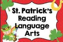 * March and St. Patrick's Reading Language Arts Ideas / This board is dedicated to March, St. Patrick's, Reading Language Arts ideas and activities for elementary teachers. You are welcome to pin any of your wonderful products that have to do with this board's theme or topic. Please pin at a 1:1 ratio. 1 paid product to 1 free idea on board topic. Please keep this board looking attractive. You are welcome to invite collaborators just ask them to read these notes so we can really make this a great board for all those awesome teachers out there!!!