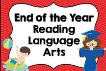 * End of the Year Reading Language Arts Ideas / This board is dedicated for End of the Year Reading Language Arts ideas and activities for elementary teachers. You are welcome to pin any of your wonderful products that have to do with this board's theme or topic. Please pin at a 1:1 ratio. 1 paid product to 1 free idea on board topic. Please keep this board looking attractive. You are welcome to invite collaborators just ask them to read these notes so we can really make this a great board for all those awesome teachers out there!!!