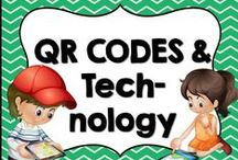 * QR Codes and Technology / This board is dedicated for anything technology like QR codes and other ideas for elementary teachers. You are welcome to pin any of your wonderful products that have to do with this board's theme or topic. Please pin at a 1:1 ratio. 1 paid product to 1 free idea on board topic. Please keep this board looking attractive. You are welcome to invite collaborators just ask them to read these notes so we can really make this a great board for all those awesome teachers out there!!!