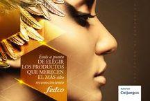 Premios de la Belleza Fedco 2105 / Estos son los nominados a los Premios de la Belleza Fedco 2015. Recuerda que puedes votar por tu producto favorito en  http://premiosdelabellezafedco.com/