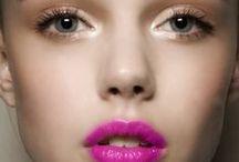 Rockin' the pretty / Nails, Hair, hair ideas, Style, beauty. Make-up #beautiful, #gorgeous, #hair, #pretty