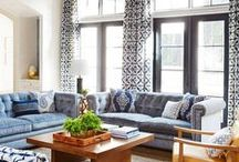 Living rooms / It's all about statements and inviting comforts.
