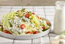 Salads ~~ Side Salads + Dressings & Croutons / by Melissa Andrade