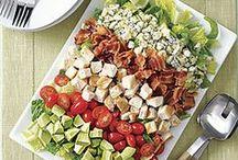 Salads ~~ Main Dish Salads / by Melissa Andrade