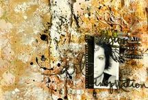 Ayeeda Layouts / Scrapbooking, mixed media layouts