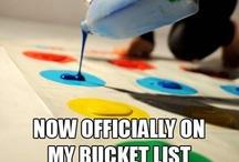 bucket list. / by Emily Deering