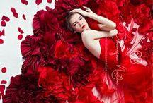 Red / Bold and Beautiful RED inspiration. http://blacktieweddinginvitations.com.au/galleries/premium-wedding-invitations/red