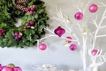 Christmas Decorating Ideas / Christmas decorating ideas, Christmas Ornaments / by GirlfriendShoes - Sarah
