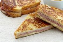 Sandwiches ~~ Grilled Cheese / by Melissa Andrade