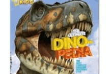 Books! / A wide variety of dinosaur books! From educational the coloring!  http://www.dinosaurfarm.com/dicobostboet.html