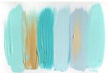 color palettes / colour combos, color ideas