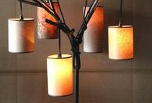DIY Lamp Ideas / DIY Lamp ideas, lampshades, pendant lamps