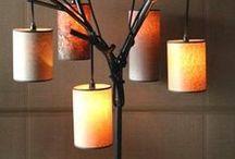 DIY Lamp Ideas / DIY Lamp ideas, lampshades, pendant lamps