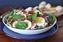 Salads ~~ Green Salads / by Melissa Andrade