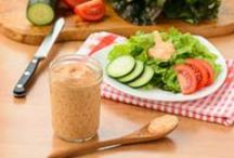 Salads ~~ Dressings/Croutons/Toppings / by Melissa Andrade