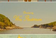 Wes Anderson / by Whitney Leigh Roberts