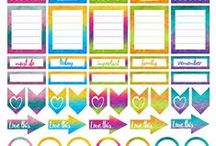 My Planner & Journal Obsession / How to deck out your planner.  I am still torn between Erin Condren and The Happy Planner.