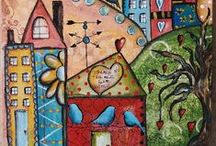Arty Inspiration / by Ellen Verhoeven