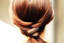 Hairspiration / Interesting hairstyles to try/wear