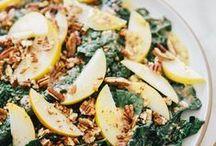 salad. / I'm not ashamed to admit I love salad! Vegan salad recipes for all year round.