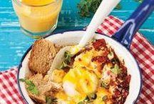 Breakfast / Delicious breakfast recipes from www.rooirose.co.za. | Lekker ontbytresepte.
