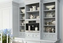 Cabinetry styles & features / by Jane Morris - Westhighland Pink