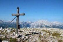 Land der Berge / Die Alpen, unsere Berge, majestätische Gipfel, schattige Wälder