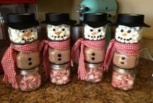 Christmas Time / Christmas crafts and other ideas. / by Jessica Shaw
