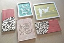Painting and Art / Fun DIY art! / by Cassandra Brown
