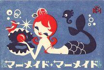 mermaids / by Anna Diaz