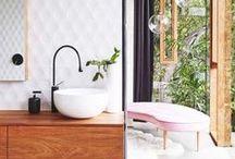 // home : bathroom // badezimmer // / Bathroom inspiration. Badezimmer Einrichtung